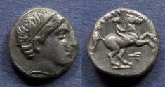 Ancient Coins - Macedonian Kingdom, Philip II 359-336 BC, 1/5 Stater