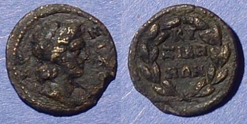 Ancient Coins - Kyzikos Mysia - AE18 Circa 200-300AD