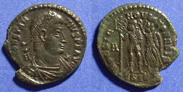 Ancient Coins - Constantius II 337-361 Centenionalis - Struck under Vetranio 350 AD