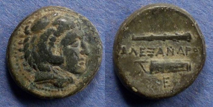 Ancient Coins - Macedonian Kingdom, Alexander III 336-323 BC, AE18