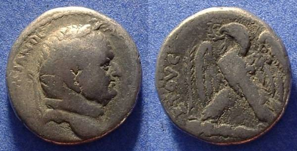Ancient Coins - Antioch Vespasian 69-79AD Tetradrachm