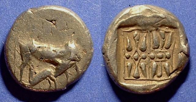 Ancient Coins - Corcyra - Archaic Stater Circa 500BC