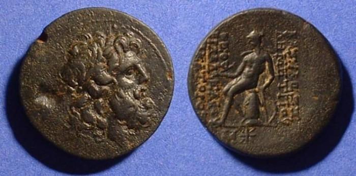 Ancient Coins - Seleucid Kingdom - Demetrios II First reign 145-140 BC AE24