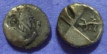 Ancient Coins - Chersonesos Thrace – Hemidrachm Circa 400-350BC