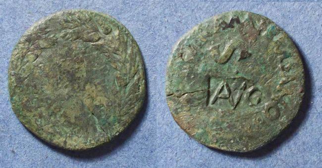 Ancient Coins - Roman Empire, Augustus 27BC-14AD, Dupondius