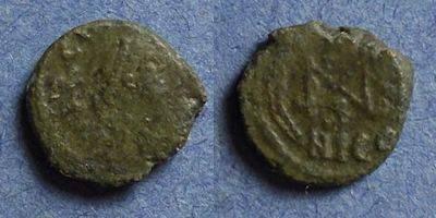 Ancient Coins - Roman Empire, Marcian 450-7, AE4