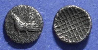 Ancient Coins - Dardanos, Troas Circa 450 BC, Obol