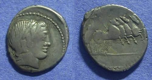 Ancient Coins - Roman Republic - Anonymous denarius - 86 BC