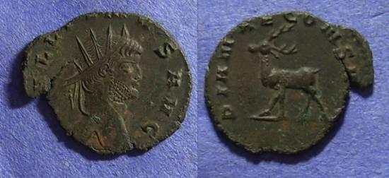 Ancient Coins - Gallienus 253-268AD Antoninianus