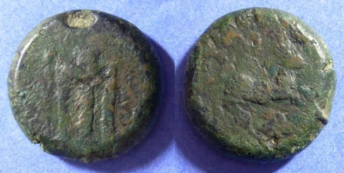 Ancient Coins - Kroton - Bruttium - AE28  Circa 400 BC  Rare
