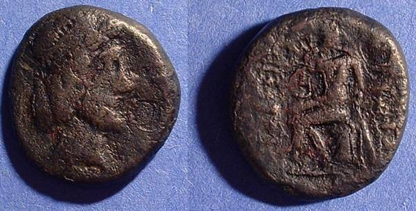 Ancient Coins - Kingdom of Characene, Attambelos III 53-72AD AE Tetradrachm