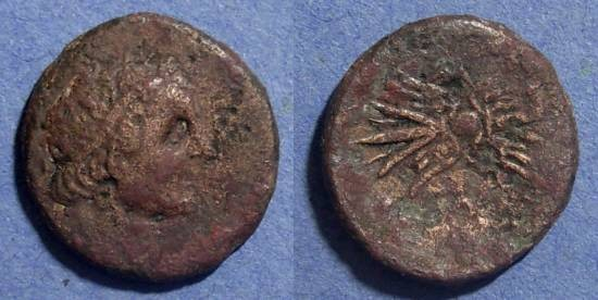 Ancient Coins - Kyrene, Magas (Revolt against Ptolemy II) 277-261, AE22