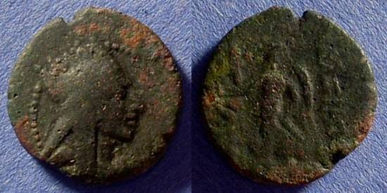 Ancient Coins - Seleucid Kingdom - Tigranes II 83-69BC AE19