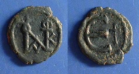 Ancient Coins - Byzantine Empire: Justin II - Pentanummium 565-578