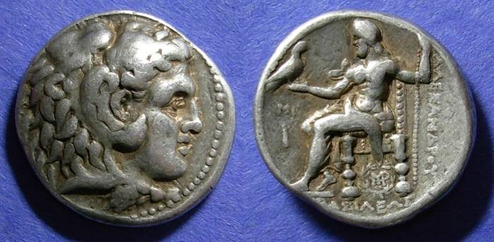 Ancient Coins - Macedonian Kingdom, Alexander III Struck circa 310 BC, Tetradrachm