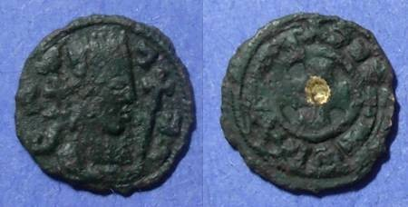 Ancient Coins - Axum, Anonymous 400-500 AD, AE14