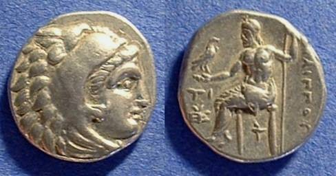 Ancient Coins - Macedonian Kingdom - Philip III 323-317BC Drachm