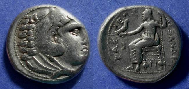 Ancient Coins - Macedonian Kingdom, Alexander III 336-323 BC, Tetradrachm