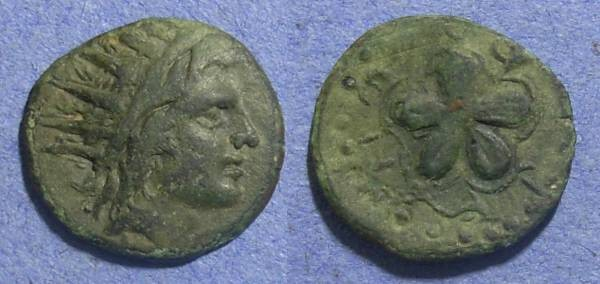 Ancient Coins - Rhodes,  88 - 43 BC, AE18