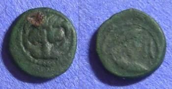 Ancient Coins - Rhegion Bruttium – AE11 420-410BC