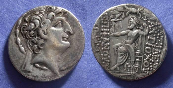 Ancient Coins - Seleucid Kingdom, Antiochos VIII 121-96 BC, Tetradrachm