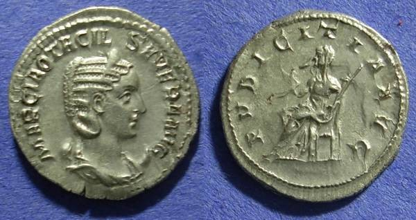 Ancient Coins - Otacilia Severa (wife of Philip) 244-9 Antoninianus