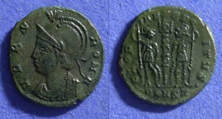 Ancient Coins - Urbs Roma/Gloria Exercitus commemorative AE 3/4