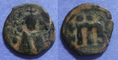 Ancient Coins - Arab Byzantine,  Circa 670 AD, Fals