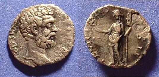 Ancient Coins - Clodius Albinus (as Caesar) 193-5 Denarius
