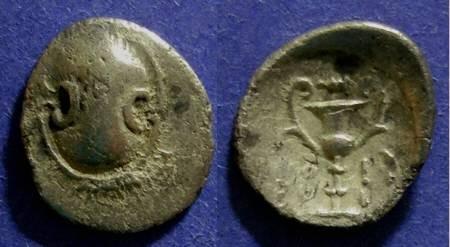Ancient Coins - Boeotia, Federal Coinage 394-340 BC, Hemidrachm