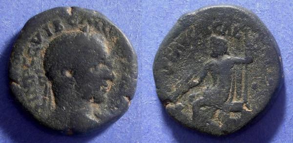 Ancient Coins - Caesarea Maritima- Samaria, Trebonianus Gallus 251-3, AE23