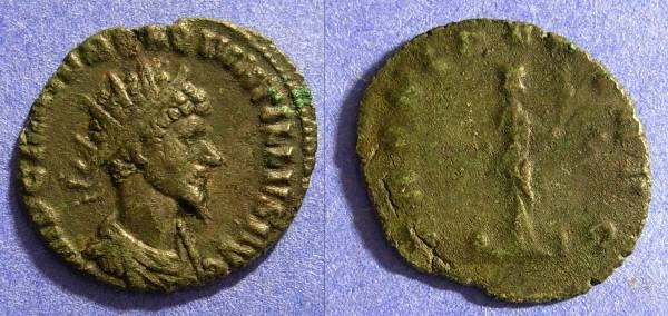 Ancient Coins - Quintillus - August to November 270AD - Nice portrait