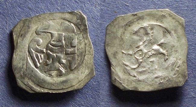 World Coins - Austria, Leopold VI or Frederick II 1198-1246, Pfennig