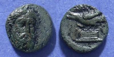 Ancient Coins - Adramytteion, Mysia Circa 350 BC, AE12