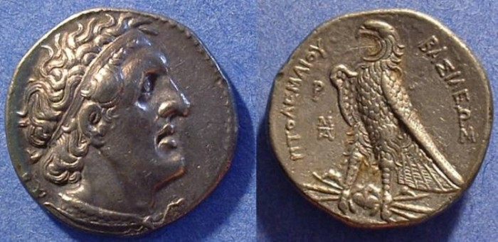 Ancient Coins - Ptolemy I (as king) 305-283 BC - Tetradrachm of the delta engraver