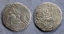 Ancient Coins - Armenia, Levon II 1270-1289, Half Tram