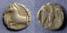 Ancient Coins - Kings of Thrace, Sparadokos 464-444 BC, Diobol