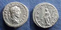 Ancient Coins - Roman Empire, Elagabalus 218-222, Denarius