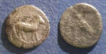 Ancient Coins - Mende, Macedonia 460-423 BC, Tritartemorion