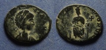 Ancient Coins - Roman Empire, Eudoxia 400-404, AE3
