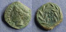 Ancient Coins - Sicily, Himera Circa 410 BC, Hemilitra