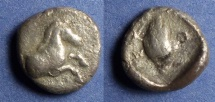 Ancient Coins - Thessalian League,  470-460 BC, Hemidrachm
