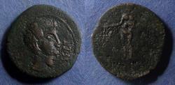 Ancient Coins - Spain, Osset, Augustus (?) 27BC-14, AE27