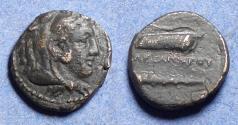 Ancient Coins - Kings of Macedonia, Alexander III 336-323 BC, Bronze AE18