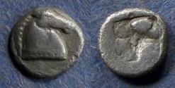 Ancient Coins - Aeolis, Kyme (?) 480-450 BC, Obol