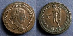 Ancient Coins - Roman Empire, Galerius (as Augustus) 305-311, Follis
