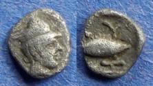 Ancient Coins - Mysia, Kyzikos 525-475 BC, Hemiobol