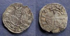 World Coins - Crusader states: Antioch, Bohemond III 1163-1201, Denier