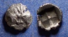 Ancient Coins - Caria, Uncertain mint Circa 450 BC, Hemiobol