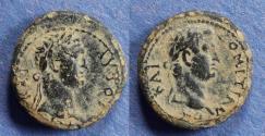 Ancient Coins - Mysia, Germe, Titus (Augustus) & Domitian (Caesar) 79-81, AE17